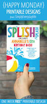 pool party invitations free 165 best pool party images on pinterest pool party invitations