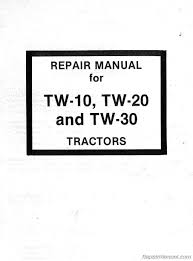 tw 10 tw 20 tw 30 tractor service repair manual