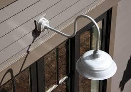 Outdoor Gooseneck Light Fixtures Fascinating Outdoor Gooseneck Light Fixture All About Home Design