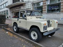 land rover brown old land rover defender stratford road hall green lan u2026 flickr