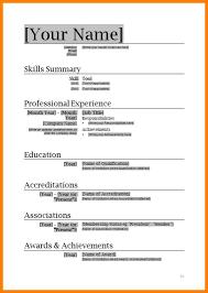 resume format word resume template word fungram co