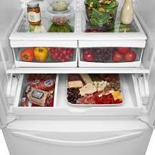 Whirlpool Inch French Door Refrigerator - whirlpool wrf532smbm 33 inch french door refrigerator with 21 7 cu