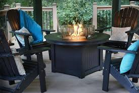 Outdoor Furniture With Fire Pit by Berlin Gardens Donoma Poly Fire Pit From Dutchcrafters Amish Furniture