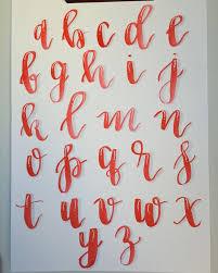 25 unique script alphabet ideas on pinterest calligraphy