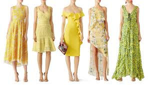 yellow dresses for weddings the new of wedding guest dressing according to experts