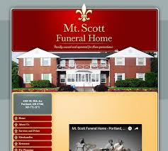 funeral homes in ta fl 100 best funeral home website designs