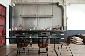 cuisine chaude table cuisine industrielle mobilier industriel chicago table tout