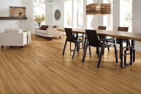 coretec by us floors rocky mountain oak contemporary dining