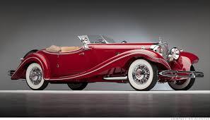 mercedes 500k 10 costliest cars at pebble 1935 mercedes 500k 7