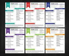 Colorful Resume Templates Free 89 Best Yet Free Resume Templates For Word Microsoft Word Free