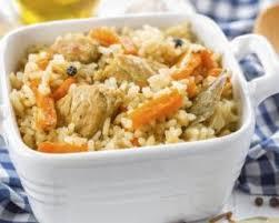 cuisiner reste poulet recette de riz minceur aux carottes et restes de poulet rôti