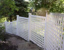 Curved Trellis Fence Panels Fencing Pvc Fencing Vinyl Fences Bridgewater Ma