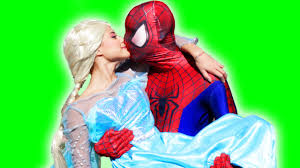 spider man and elsa videos know your meme