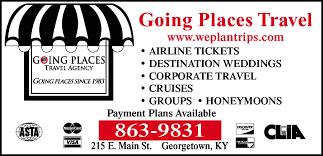 Kentucky why use a travel agent images Going places travel agency georgetown ky 40324 jpg