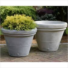 Faux Stone Planters by Containers Chelsea Garden Center