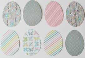 paper easter eggs the of easter egg ornament craft