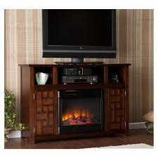 fireplaces futuristic tv setup dark wood fireplace glazed pot