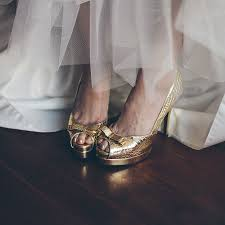 gold wedding shoes for luxe blush gold shoes for wedding weddceremony