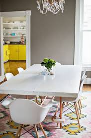 White Dining Room Table by Best 25 Yellow Kitchen Tables Ideas On Pinterest Redoing