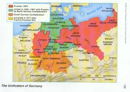 Map Of East And West Germany by North German Confederation 1866 U2013 1871 Dead Country Stamps And