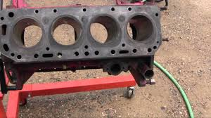 ford jubilee naa tractor engine rebuild part 7 parts and block
