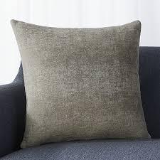 Grey Decorative Pillows Grey Decorative Pillow Crate And Barrel