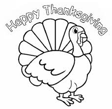 turkey thanksgiving coloring pages happy thanksgiving