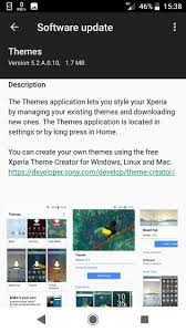 theme creator z2 sony updates xperia themes app with new ui 5 2 a 0 10 xperia blog