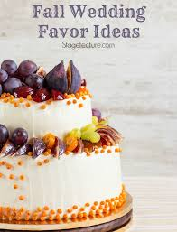 fall wedding favor ideas fall wedding favor ideas