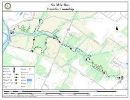 Nj Path Map Six Mile Run New Jersey Trails Association