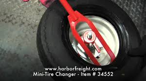 Awesome 13x5 00 6 Tire And Rim Mini Tire Changer 61179 Youtube