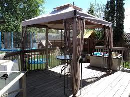 gazebo 8x8 8x8 gazebo with netting patio table umbrella