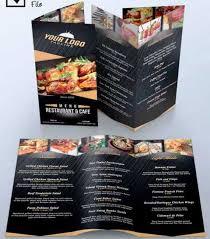 contoh desain brosur hotel 30 desain brosur restoran untuk promosi dan marketing