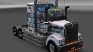 kenwood t800 kenworth ets 2 mods euro truck simulator 2 mods ets2mods lt