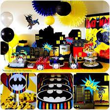 Batman Table Decorations 59 Best Batman Robin Birthday Party Images On Pinterest