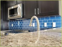 glass subway tile kitchen backsplash home design ideas