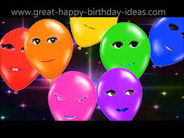 singing text message for birthday singing happy birthday balloons especially for you