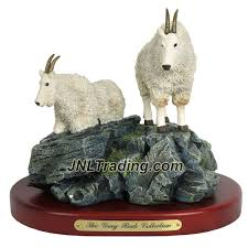 amy and addy the gray rock collection series wildlife animal resin amy and addy the gray rock collection series wildlife animal resin decorative statue mountain goat