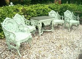 Cast Bench Ends Wrought Iron Garden Bench Ends Set Of Four Seasons Garden