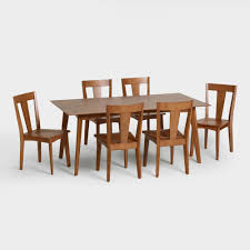 World Market Dining Room Table by Weston Mid Century Dining Collection Dining Room Collections