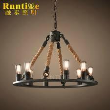 Iron Orb Chandelier Retro Cheap Antique Brass Indian Lamps Modern Lighting Spider