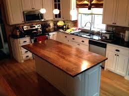 chopping block kitchen island kitchen island butcher block white kitchen island with black top