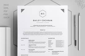 resume cv u0027bailey u0027 on behance