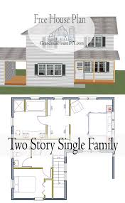 Single Family Floor Plans Patio Home Designs Exterior Modern Two Bedroom House Plans With