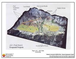 Wildfire Ranch by 16 0 Job U0027s Peak Ranch Douglas County Fire Plan Nevada