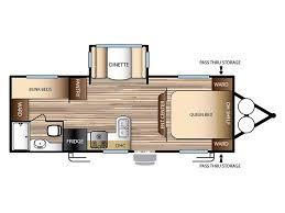 Sunset Trail Rv Floor Plans Forest River Evo T2300 Rvs For Sale