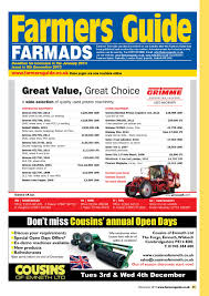 farmers guide classified section december 2013 by farmers guide