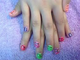 little nails fun little girls nails nail art pinterest nails