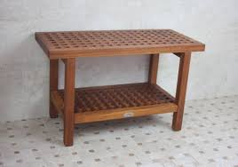 Teak Benches Stools Stool Benches Assertiveness Rustic Bedroom Bench