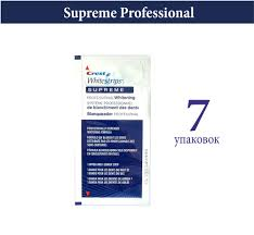 crest supreme whitening strips поштучно полоски crest 3d white whitestrips supreme professional